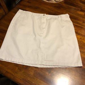 LL Bean Skirt Size 20
